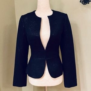 White House Black Market black belted jacket